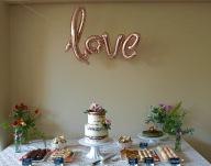 Summer Wedding Dessert Table