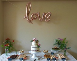 Summer Wedding Dessert Table